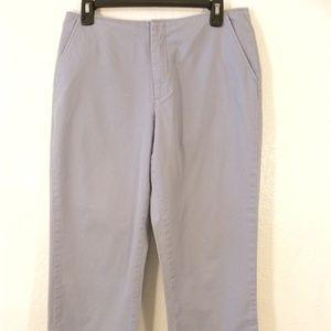 Old Navy Slacks Capri Women's Size 10 Blue